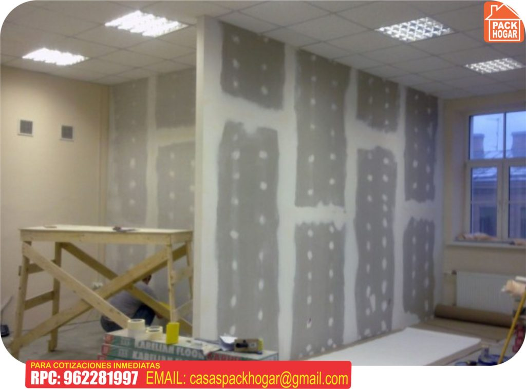 paredes en drywall